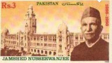 ''جمشید نسروانجی '' جنہیں بابائے کراچی کہا جاتا تھا