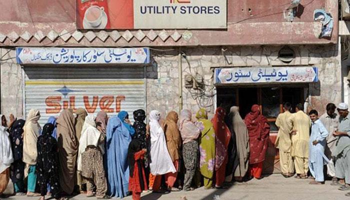 'حکومتی ریلیف کرپشن کی نذر' یوٹیلیٹی اسٹورز کا سامان دکانوں پر سپلائی ہورہا ہے