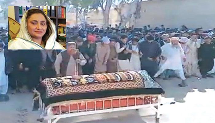 خاتون ایم پی اے کا قتل