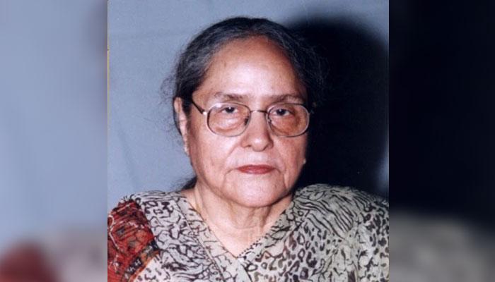 پاکستانی ناول نگار 'رضیہ بٹ'