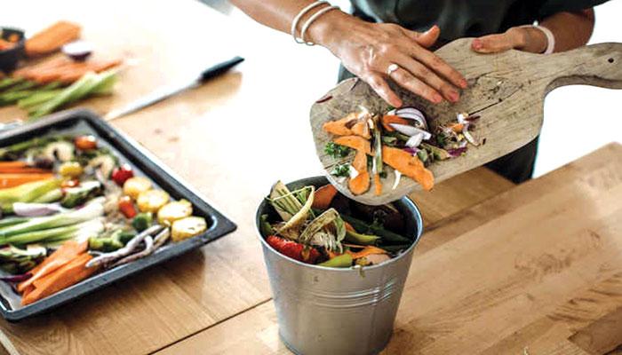کھانے کا ضیاع اور ماحولیاتی تبدیلی