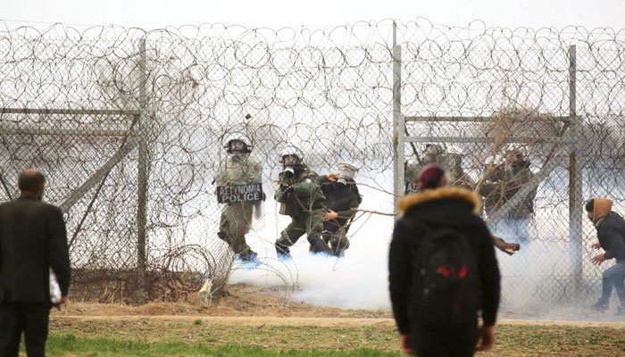 ترکی اور یونان کی سرحدی کشیدگی