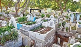 Karachi Graveyard