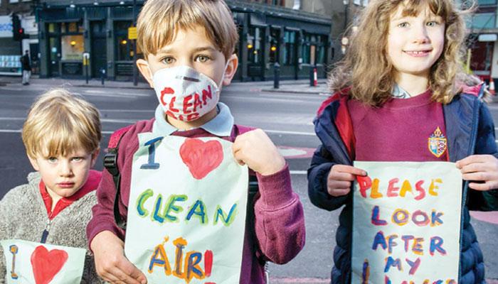 ماحولیاتی تبدیلی اور بچوں کا مستقبل؟