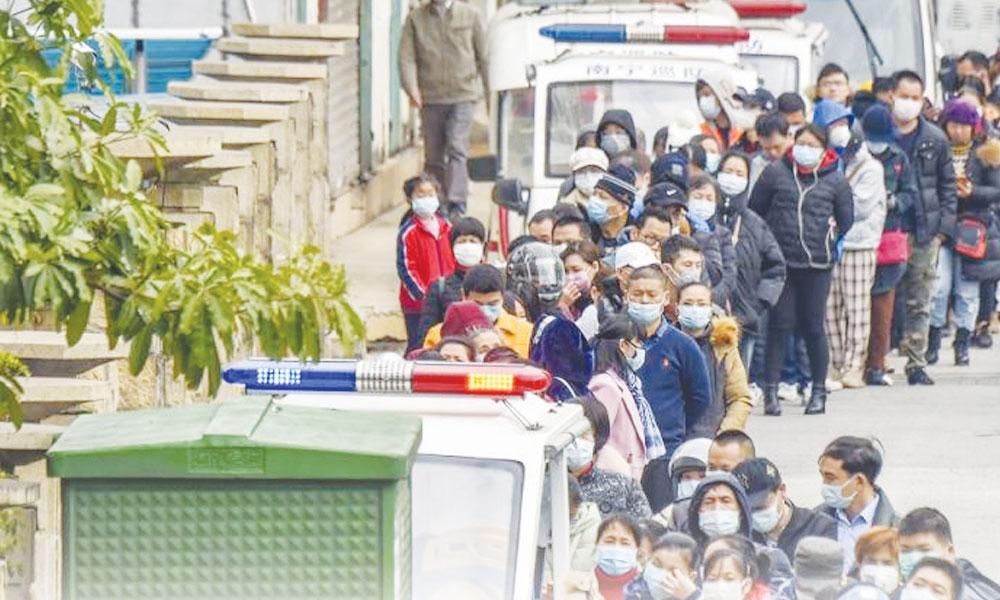 کورونا وائرس کی وباء پھوٹنے کی قیمت چین کے غرباء ادا کررہے ہیں