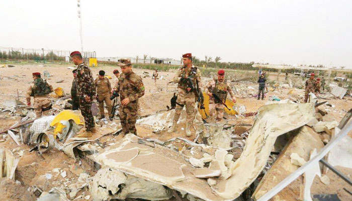 عراق سے امریکا کے انخلا کا مطالبہ