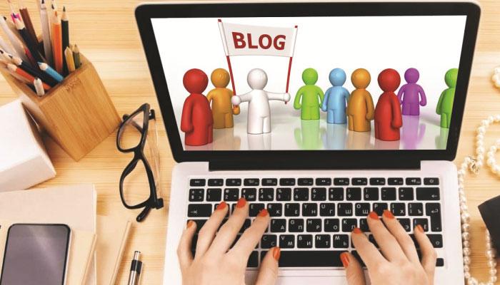 ''بلاگنگ '' سے پہچان بنائیں