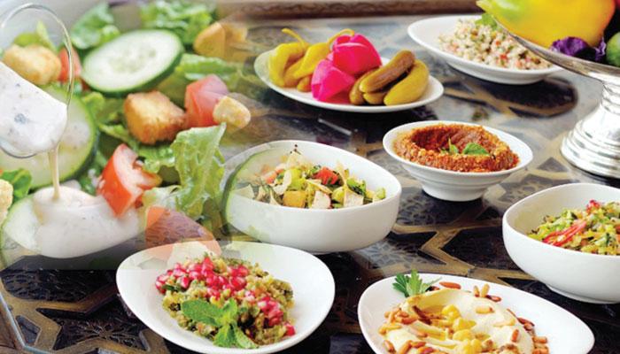 کھجور، پھل اور سبزیاں کھانے کی منفرد ریسیپیز