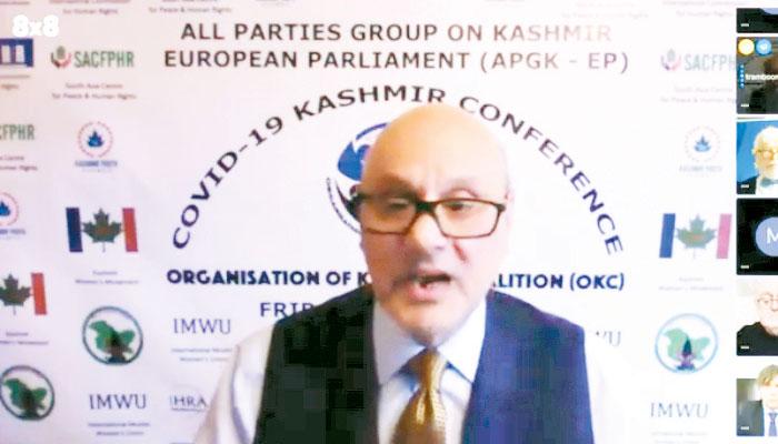 کووڈ 19، کشمیر ویڈیو لنک کانفرنس کا انعقاد
