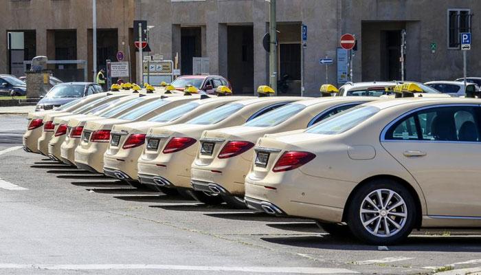 جرمنی کی کورونا ٹیکسیاں