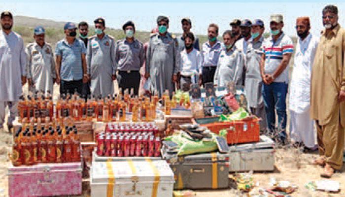700 ملین روپے کی منشات برآمد