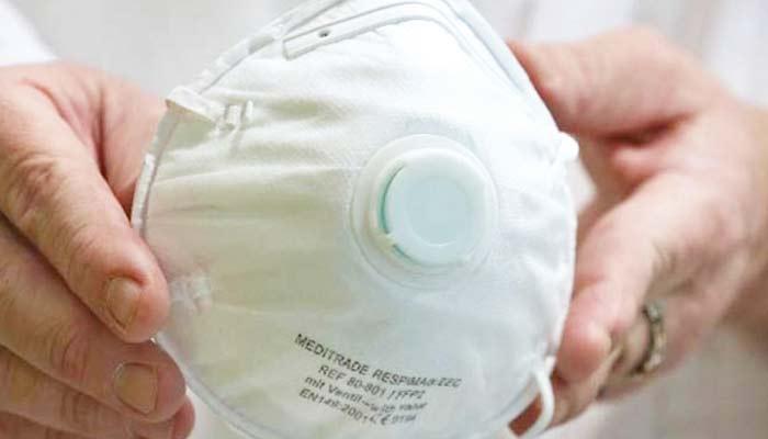 کورونا وائرس کی صورت میں روشنی خارج کرنے والا ماسک