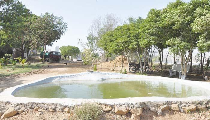 کراچی کا آکسیجن ٹینک ... کِڈنی ہل پارک