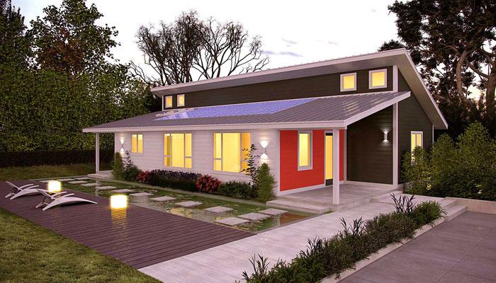 'زیرو انرجی' گھروں کا تصور