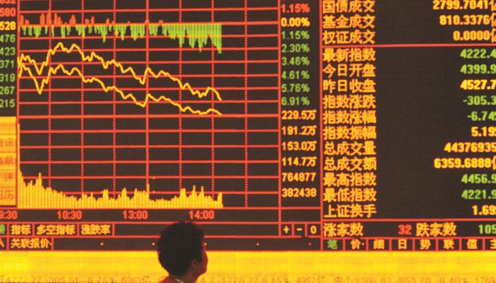 سرکاری میڈیا کے سرمایہ کاروں کوبھاری سرمایہ کاری کی تاکید کے بعد چین کے اسٹاک میں اضافہ