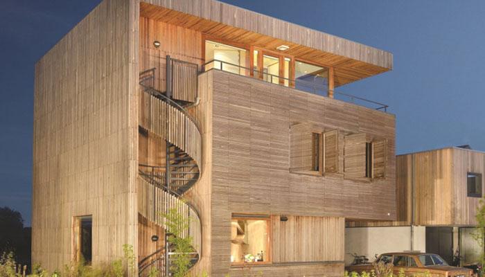 رہائش کے لئے بہتر تعمیراتی ڈیزائن