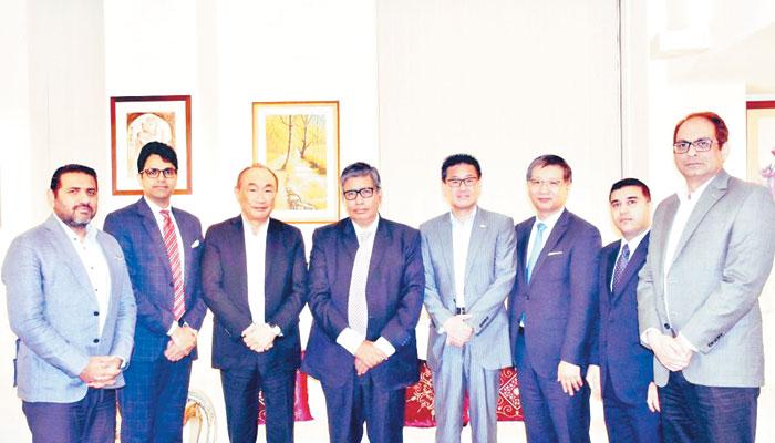 پاکستانی سفیر کی صنعت کاروں سے ملاقات
