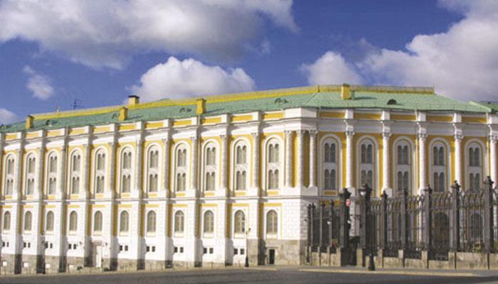 'ماسکو' کی قدیم و تاریخی عمارتیں