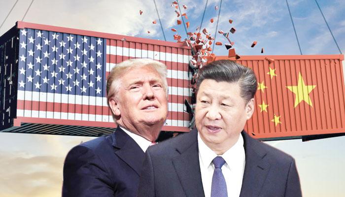 ٹرمپ اب چین کے ساتھ تجارتی خسارے کی بات نہیں کرتے