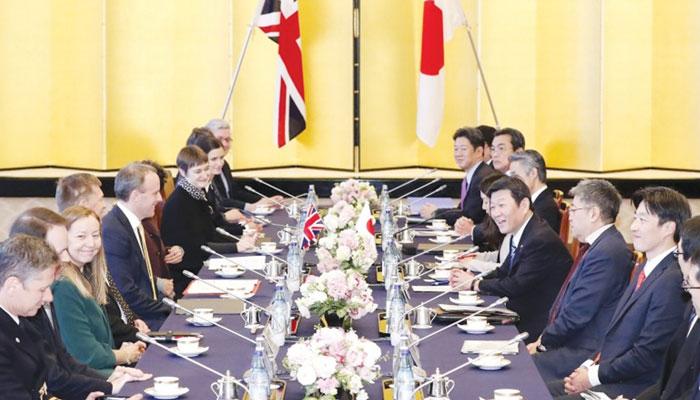 برطانیہ اور جاپان کے تجارتی معاہدے  میں یورپی یونین کے معاہدے کی ضرورت