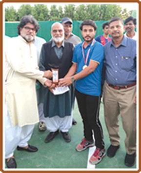 ٹینس، ابراہیم اور راج بتول فاتح بن گئے
