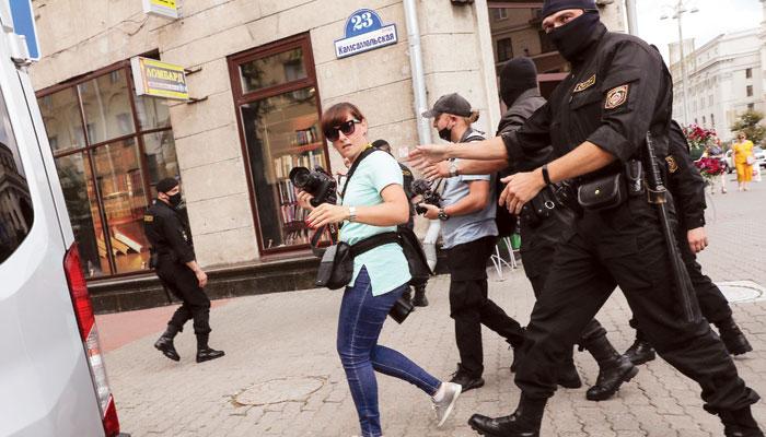 بیلا روس میں سیاسی بحران