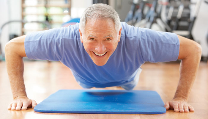 ورزش کریں ، چاہے کوئی بھی عمر ہو!
