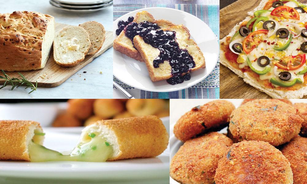 ڈبل روٹی سے مزیدار ڈشز تیار کریں