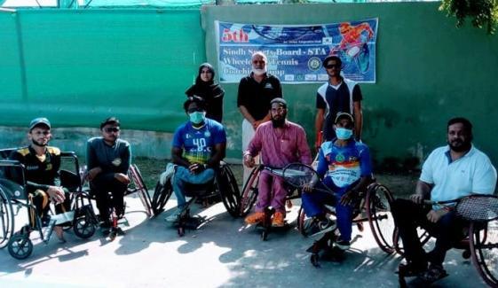 Wheel Chair Tennis