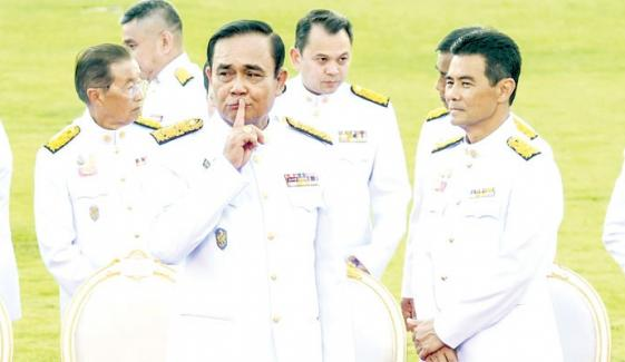 Political Situation Of Thailand