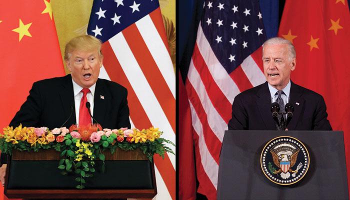 نیا صدر کون؟ ... ٹرمپ یا جوبائیڈن