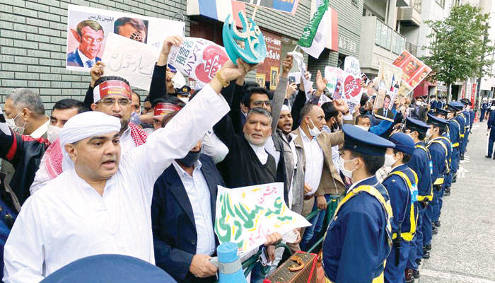 گستاخانہ خاکوں کے خلاف جاپان میں غم و غصہ