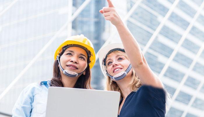تعمیراتی شعبے میں خواتین کیلئے مواقع