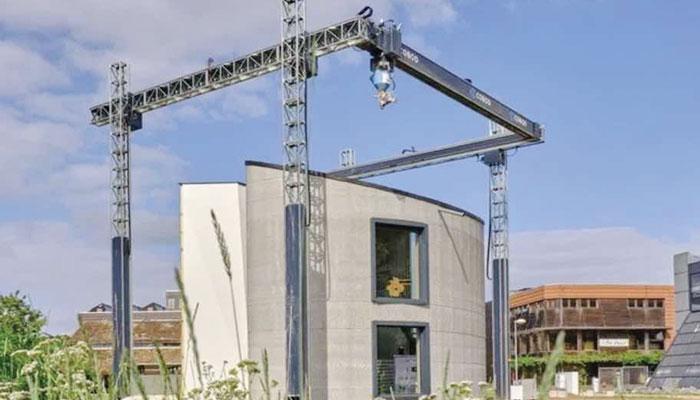 یورپ کی سب سے بڑی 3D پرنٹڈ عمارت