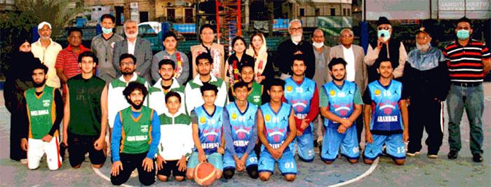 کراچی باسکٹ بال کے عہدے داروں کی مثالی کارکردگی