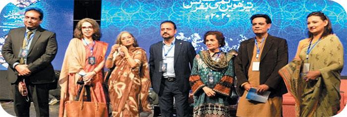عالمی شہرت یافتہ فنکاروں نے اردو کانفرنس کو رنگین بنا دیا