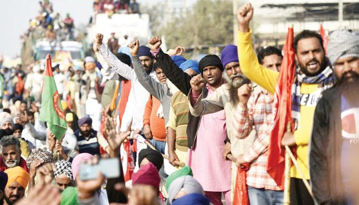 بھارت میں کسان تحریک اور بی جے پی