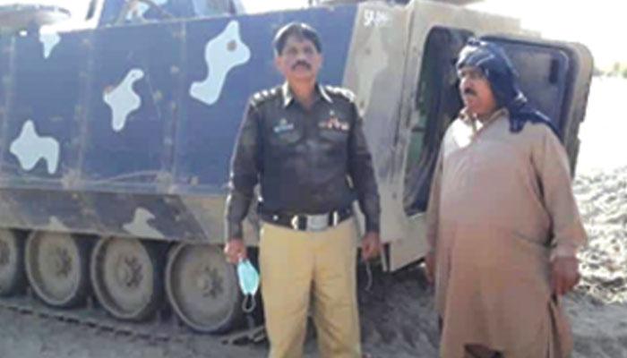 کچے کے علاقے ''شاہ بیلو'' میں پولیس آپریشن