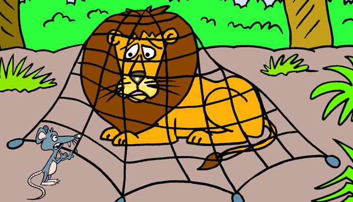شیر اور چوہا