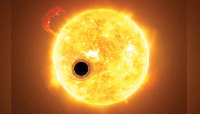سورج سے 5 سال ارب سال پرانا پتھریلا سیارہ