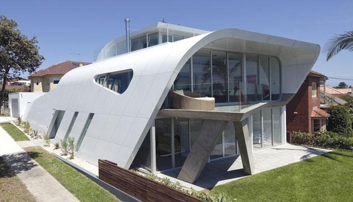 کم رقبے کے لئے بہتر تعمیراتی ڈیزائن