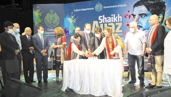 سندھ دھرتی کے انقلابی شاعر شیخ ایاز کے 98ویں جنم دن کے موقع پر محکمہ ثقافت کے زیر اہتمام تقریب