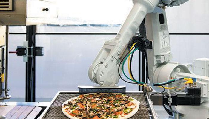 روبوٹ کچن ...مستقبل کے ریستوران!