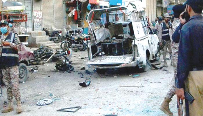 کراچی ایک مرتبہ پھر دہشت گردی کی لپیٹ میں
