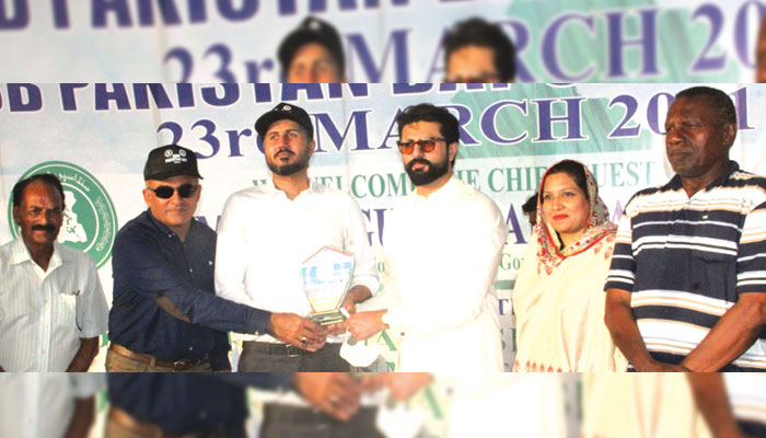 یوم پاکستان اسپورٹس میلہ، کراچی قومی بیچ گیمز کا میزبان