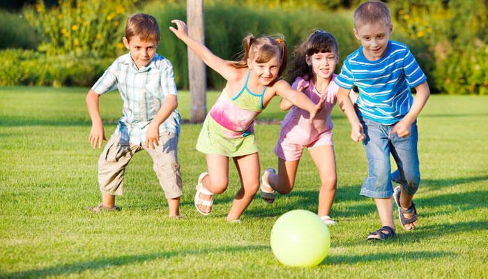 بچوں میں کھیل کی عادت