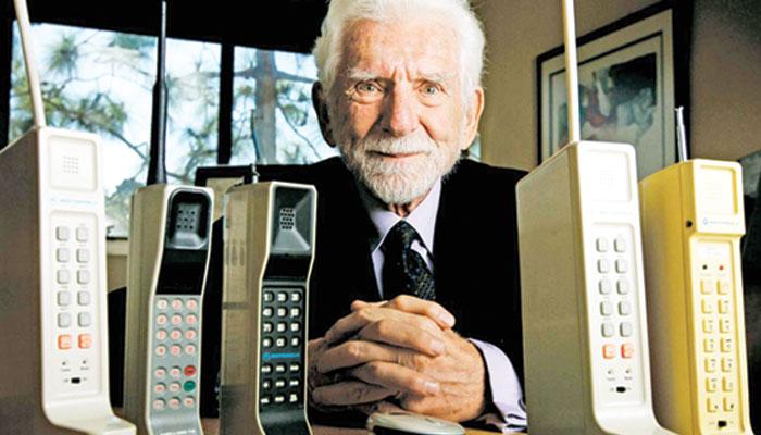 موبائل فون کی ایجاد