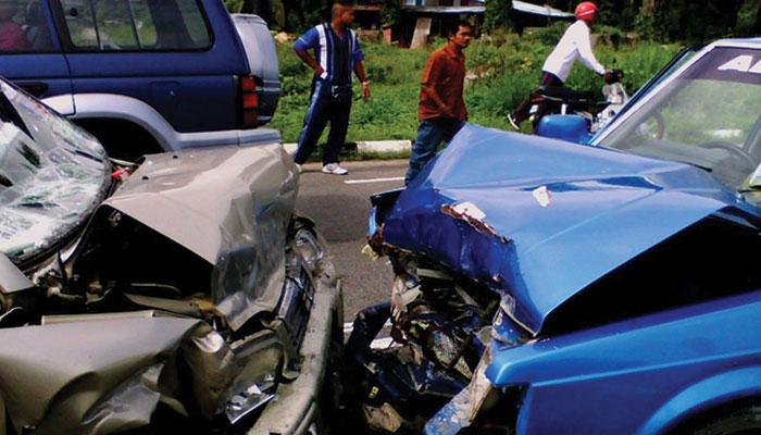 نیشنل ہائی وے پر بڑھتے ہوئے حادثات!!