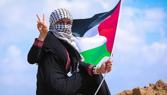 تمہاری آنکھیں، فلسطینی ہیں