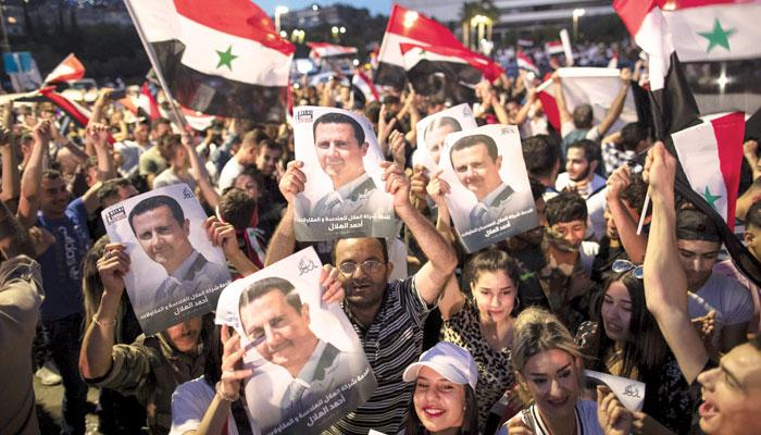 بشار الاسد پھر ''جیت'' گئے